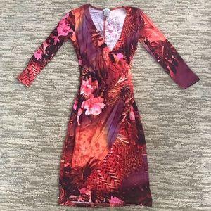 Cache Tropical Floral XS Dress